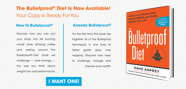 bulletproof diet book available now